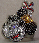 Clip On Pony Tail Disney Minnie Mouse Hair Ringz™