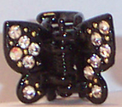 ".5"" Butterfly Claw Pair These are currently only available in Black."