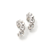 Magnetic Diamond Crystal Earrings