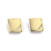 Magnetic Earring-Crystal Square