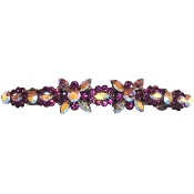Large Crystal Barrette Amethyst